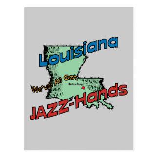 ~ del lema de los E.E.U.U. del LA de Luisiana tene Postal