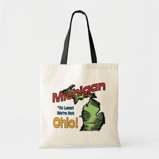 ~ del lema de Michigan MI LOS E.E.U.U. por lo meno Bolsas De Mano