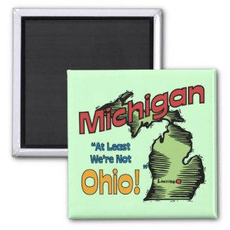 ~ del lema de Michigan MI LOS E.E.U.U. por lo meno Imán De Frigorífico