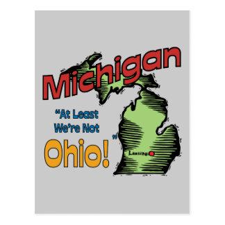 ~ del lema de Michigan MI LOS E.E.U.U. por lo meno Tarjeta Postal