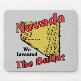 ~ del lema de Nevada nanovoltio los E.E.U.U. inven Alfombrilla De Ratones