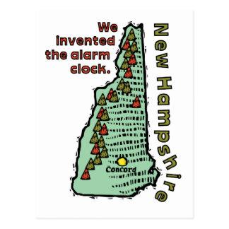~ del lema de New Hampshire NH inventamos la Tarjetas Postales
