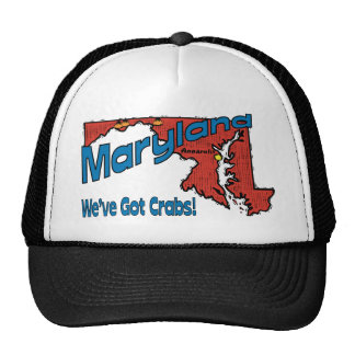 del lema del MD LOS E E U U de Maryland tenemos Gorros Bordados