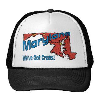 ~ del lema del MD LOS E.E.U.U. de Maryland tenemos Gorros