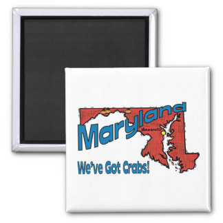 ~ del lema del MD LOS E.E.U.U. de Maryland tenemos Imán De Frigorífico