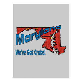 ~ del lema del MD LOS E.E.U.U. de Maryland tenemos Postales