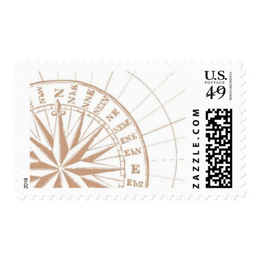 Del Mar B by Ceci New York Postage Stamp