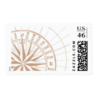 Del Mar B by Ceci New York Postage Stamps