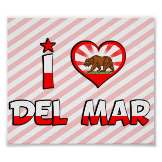 Del Mar, CA Poster