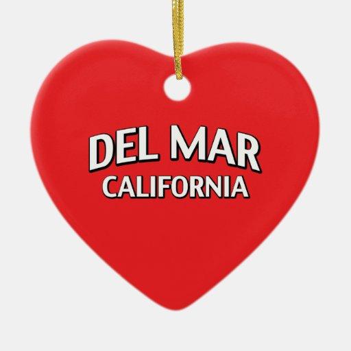 Del Mar California Ornament