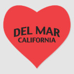 Del Mar California Sticker