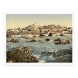 Del mar, Jaffa, Tierra Santa, clas (es decir de Is Tarjetas Postales