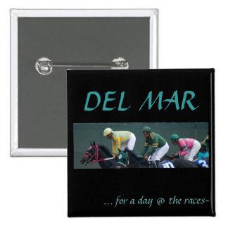 Del Mar, Pinback Button