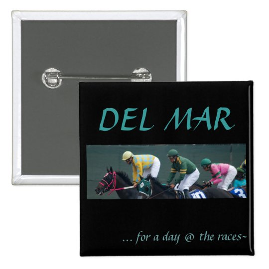 Del Mar, Pinback Button