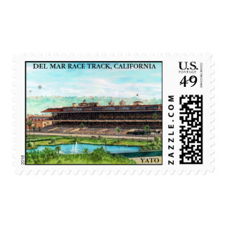 DEL MAR RACE TRACK, CALIFORNIA POSTAGE