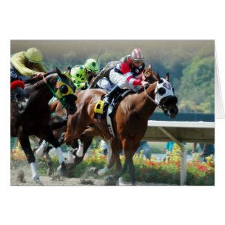 Del Mar Racetrack Card