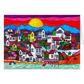 Del Mar Sunrise Card