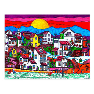 Del Mar Sunrise Postcard