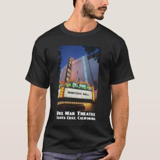 Del Mar Theatre, Santa Cruz Dark T-Shirt