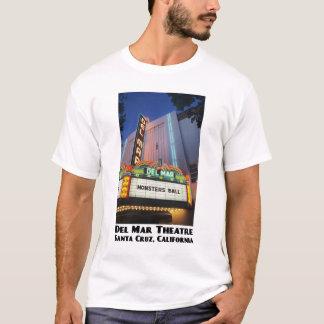 Del Mar Theatre, Santa Cruz White T-Shirt
