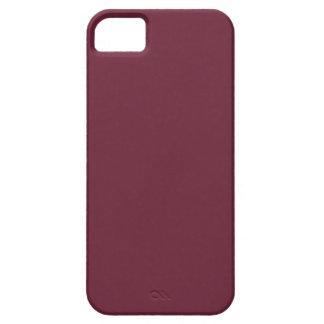 ~ del MERLOT (color rojo oscuro sólido de vino) iPhone 5 Carcasas