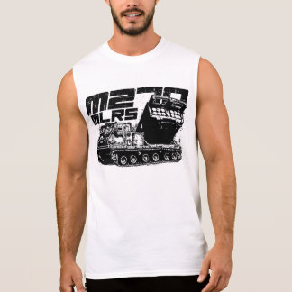 Del MLRS M270 de los hombres camiseta sin mangas