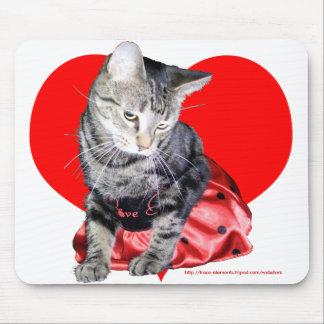 """Del """"mousepad insecto del amor"""" del gato (diseño g tapete de ratones"""