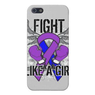 Del movimiento lucha pediátrica ultra como un chic iPhone 5 fundas