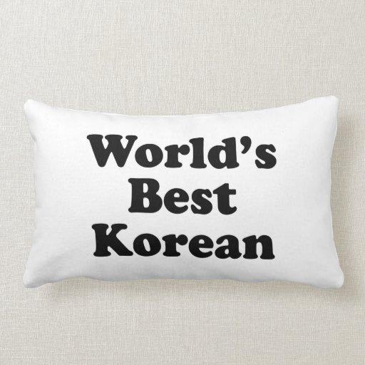 Del mundo el coreano mejor almohadas