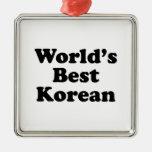 Del mundo el coreano mejor ornamentos de navidad