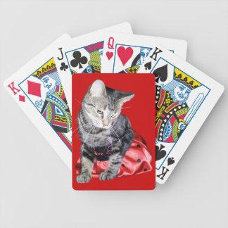 """Del """"naipes insecto del amor"""" del gato cartas de juego"""