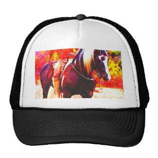 Del nativo americano ♂ a caballo gorros bordados