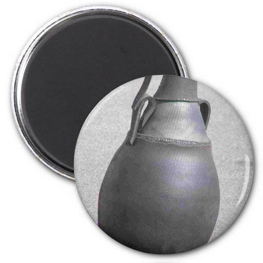 Del neumático al envase del agua imán redondo 5 cm