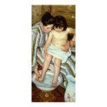 Del niño de Mary Cassatt el baño (circa 1892) Tarjetas Publicitarias Personalizadas