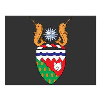 del noroeste, Canadá Tarjeta Postal
