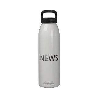 Del norte del este del oeste South ai Botella De Agua Reutilizable