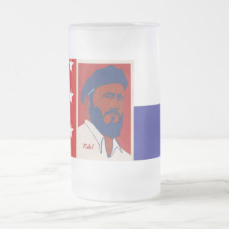 Del Norte, Fidel de Bandera de la Repblica Taza Cristal Mate