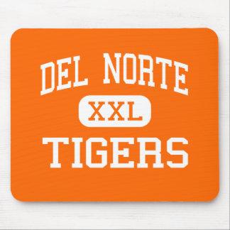 Del Norte - tigres - alto - Del Norte Colorado Alfombrilla De Ratón