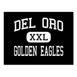 Del Oro - Eagles de oro - alto - Loomis California Tarjetas Postales