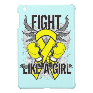 Del osteosarcoma lucha ultra como un chica iPad mini carcasas