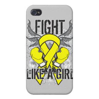Del osteosarcoma lucha ultra como un chica iPhone 4/4S carcasas