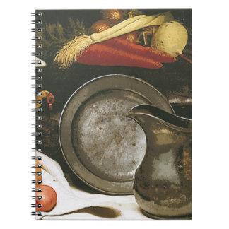 Del país todavía de la cocina cuaderno de la vida