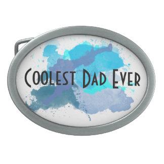 Del papá la hebilla del cinturón más fresca nunca hebillas de cinturon ovales
