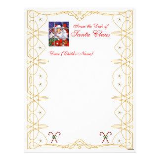 Del Papel con membrete-Personalizar del navidad de Membrete