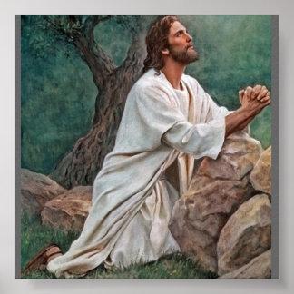 Del_Parson_Prayer_at_Gethsemane_400 Posters