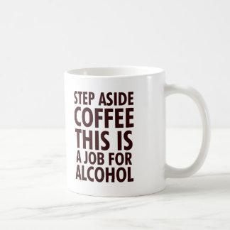 Del paso café a un lado tazas de café
