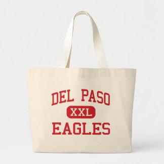 Del Paso - Eagles - alto - nuez California Bolsa Tela Grande