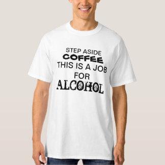 Del paso el café a un lado esto es un trabajo para camisas