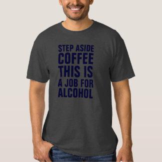 Del paso el café gris a un lado esto es un trabajo polera