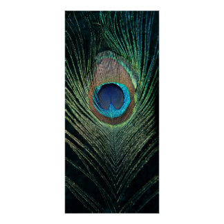 Del pavo real todavía de la pluma vida oscura posters